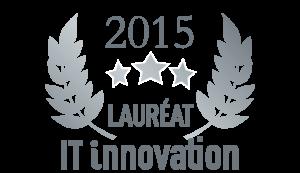 Trophée de l'innovation IT 2015